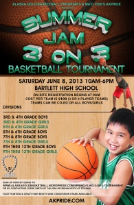 Alaska Godl 3on3 Tournament