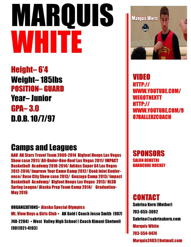 Marquis BBALL Profile