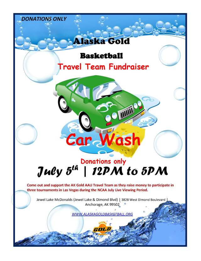 2015 Car Wash Flyer