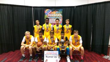 19 aau runner up